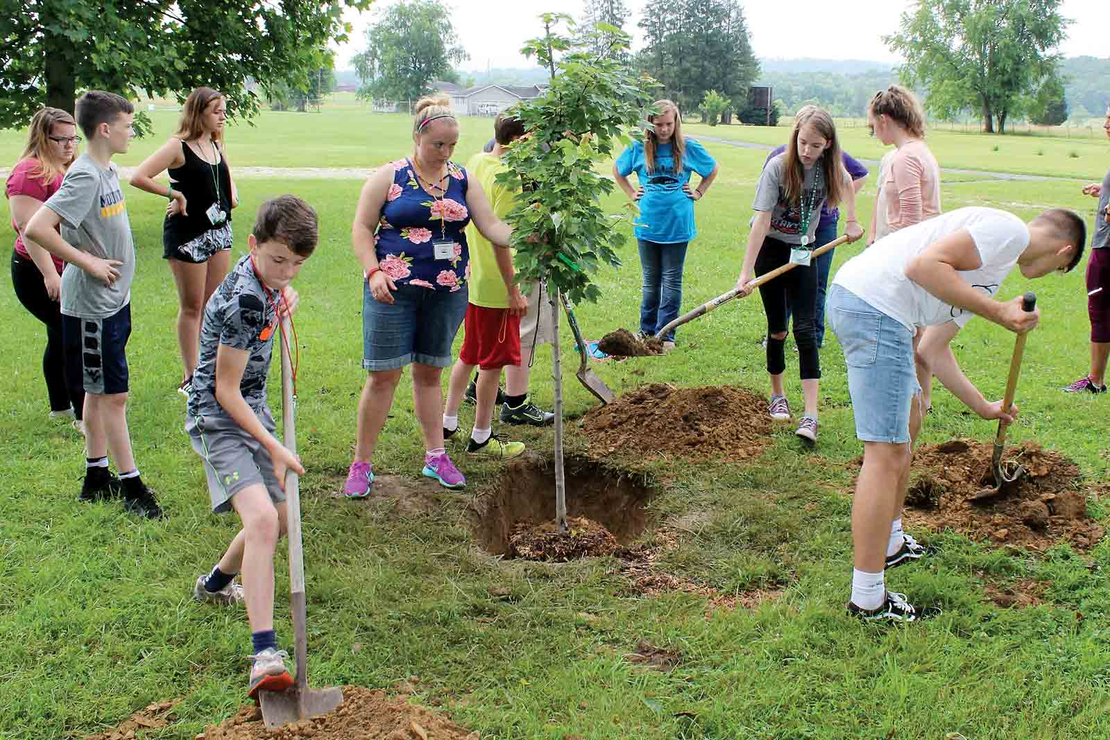 Youth Learn Leadership At Wood County 4 H Camp