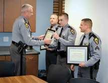 Ohio State Highway Patrol Honors Troopers Saving
