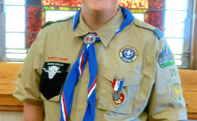 Jersey Shore Boy Scout Achieves Highest Rank Eagle News