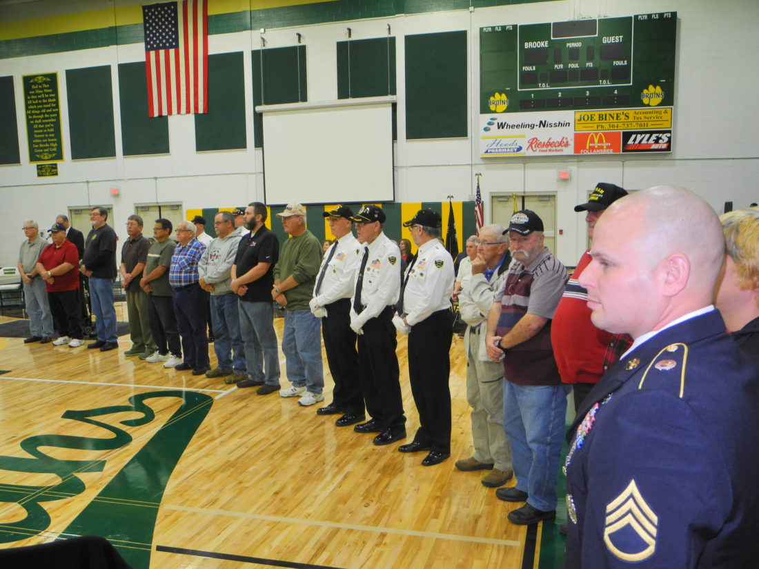 Brooke High School Gathers Decades Of Service For Veterans
