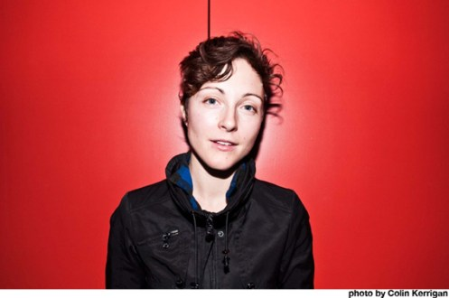 Channy Leaneagh of Polica - a kind of Celtic Soul thing happening.