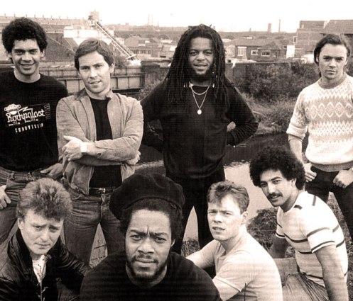 UB40 - not  your average quasi-Reggae get-together.