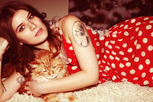 Bethany of Best Coast - bringing an unmistakable blast of L.A. to Gothenburg.
