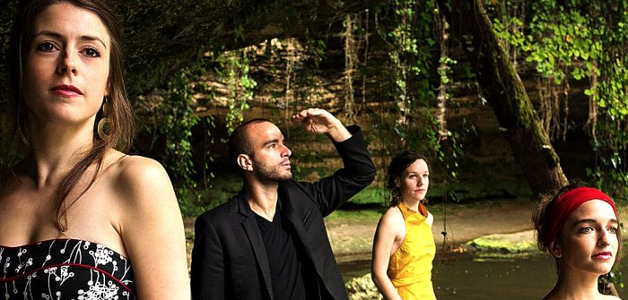 The Voce Quartet - yes, things are looking up.