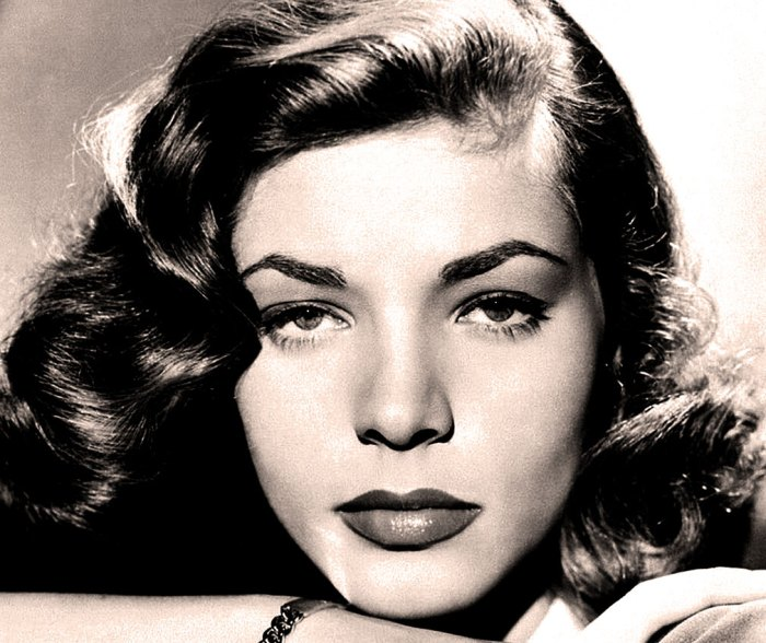 Lauren Bacall - icon from the word Go.