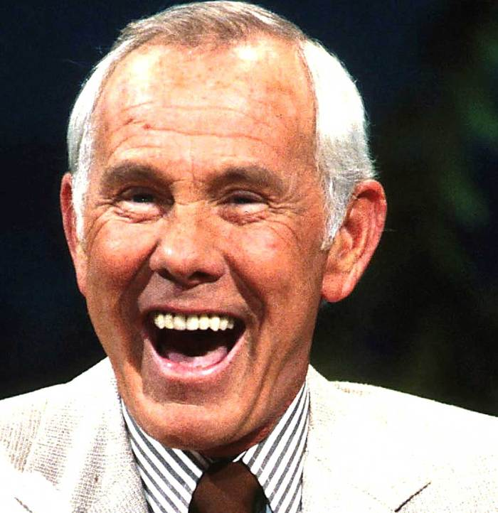Johnny Carson - The face of late-night television for 30 years.
