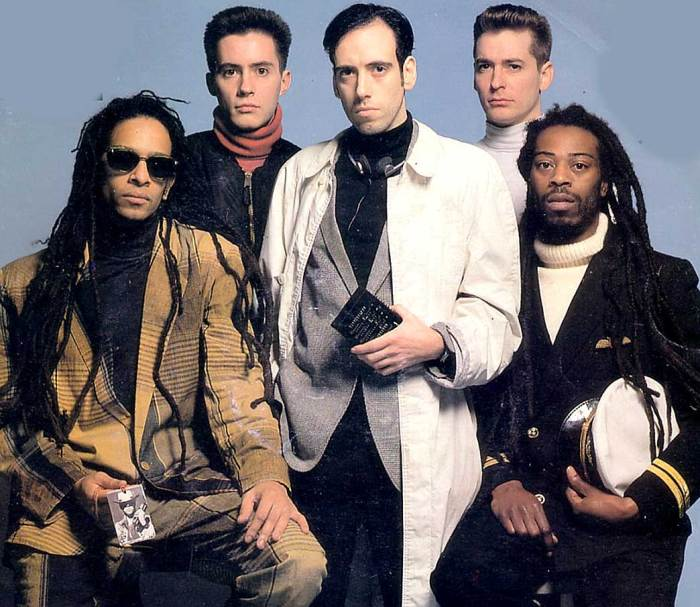 Big Audio Dynamite - the big mash-up of the 80s.