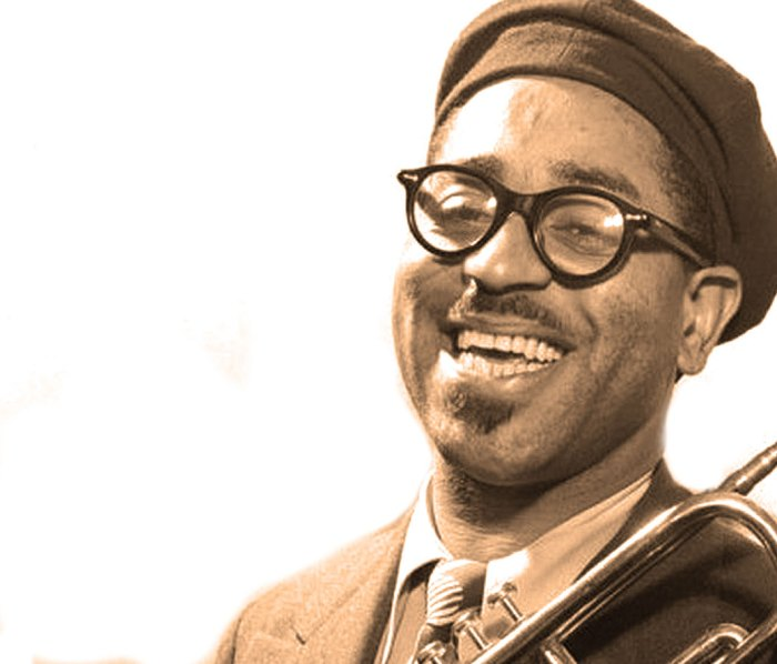 """Dizzy Gillespie -  The man who personified what Louis Armstrong called """"Chinese Music""""."""