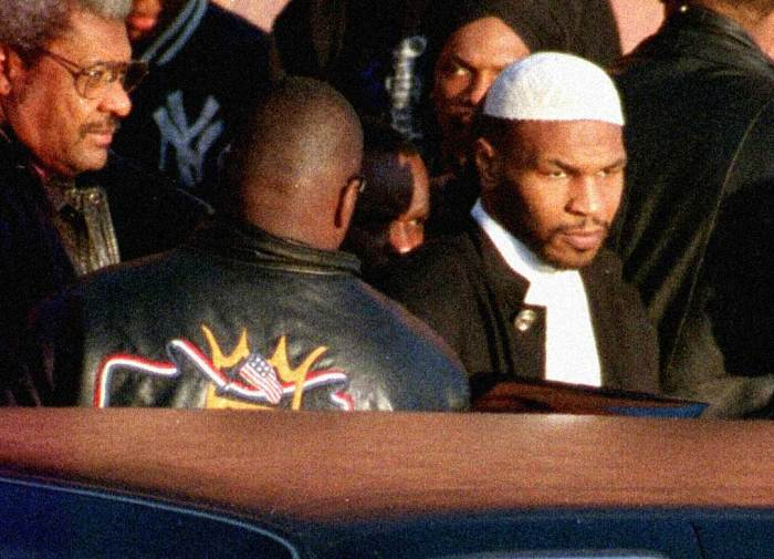 Mike Tyson - no  special favors and a conversion to Islam.