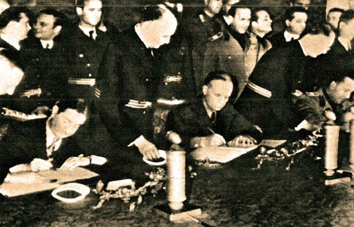 Yugoslavia - March 25, 1941 -  the dominos were falling.