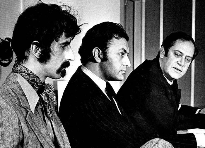 Frank Zappa - Zubin Mehta - Ernest Fleischmann - credulity met bafflement met perplexity - and in the end; dinner.