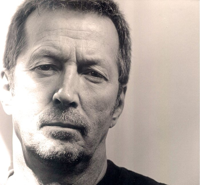 Eric Clapton - three-time inductee to the Rock n' Roll Hall of Fame. Slow-hand done good.