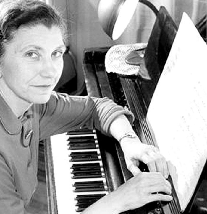 Violet Archer - seminal figure in Canadian composition - they even named a band after her.