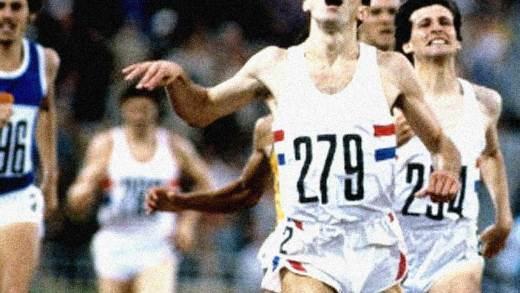 Moscow Olympics - Steve Ovett - 1980