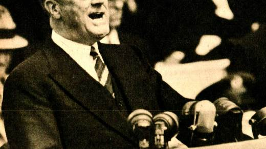 FDR - Accepting the nomination for a third term