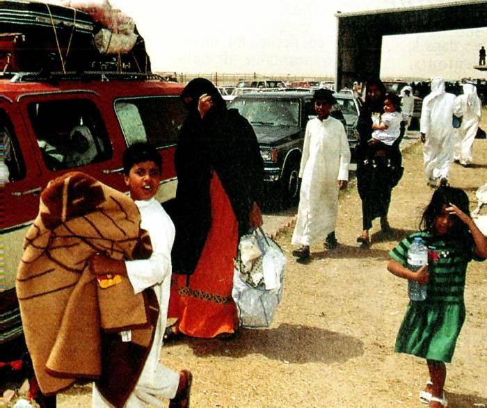 Gulf Crisis - Leaving Kuwait