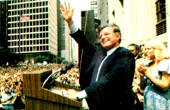 Ted Kennedy - Waldorf Astoria rally - August 8, 1980