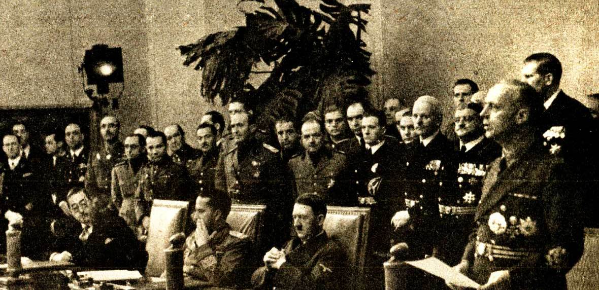 September 27, 1940 Axis Pact Signing