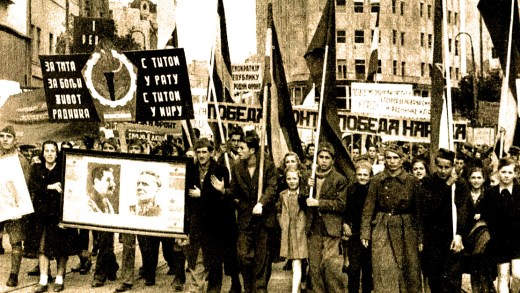Pro-Communist Demonstrations in Europe