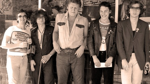 Squeeze 1978 - Photo; Hugh Brown