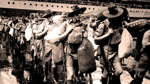 Reinforcements arrive in Singapore - May 1941