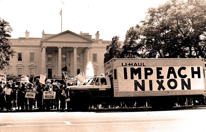 White House Demonstration - May 1974