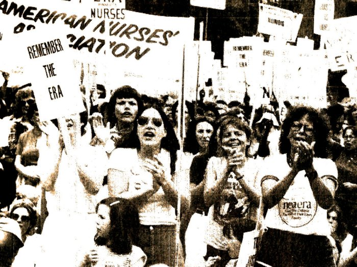 ERA - Equal Rights Amendment Demonstrations