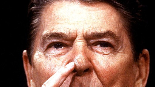 President Reagan - Skin Cancer
