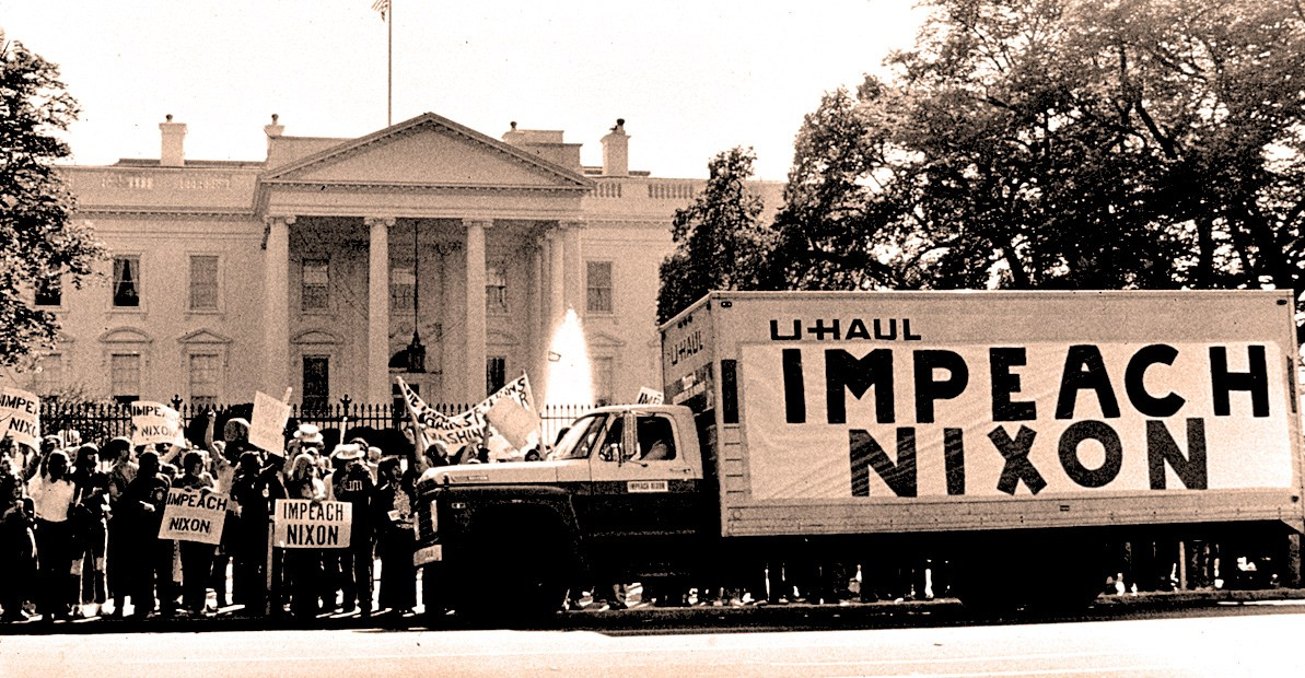 Nixon Impeachment vote