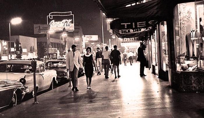 Hollywood Boulevard 1966