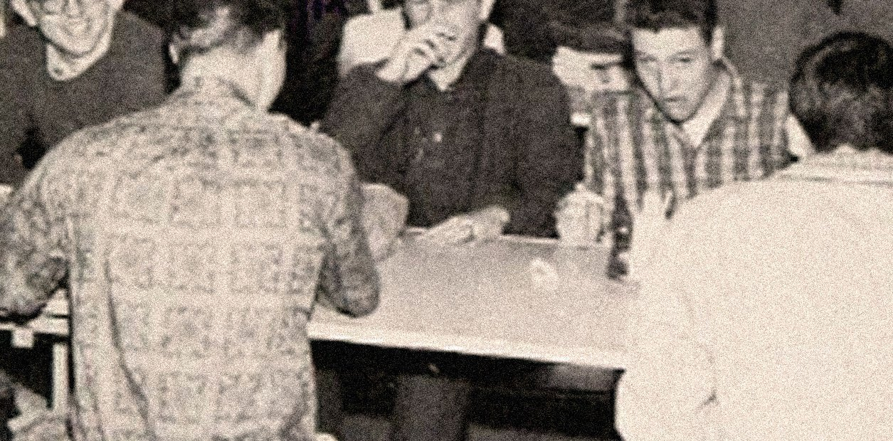 High School lunch room - S.F. - 1961