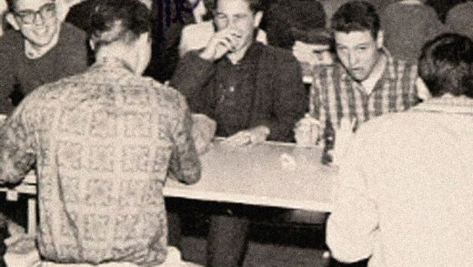 High School lunch room - S.F. - 1961