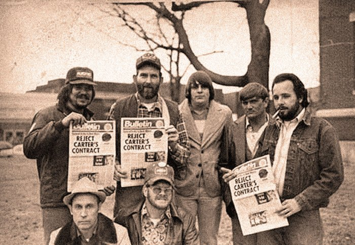 Coal Miners on Strike - 1978