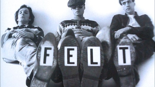Felt - in session for Janice Long 1984