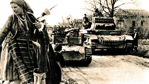 German tanks in Yugslavia - 1941