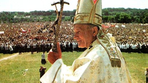 Pope John Paul in Katowice