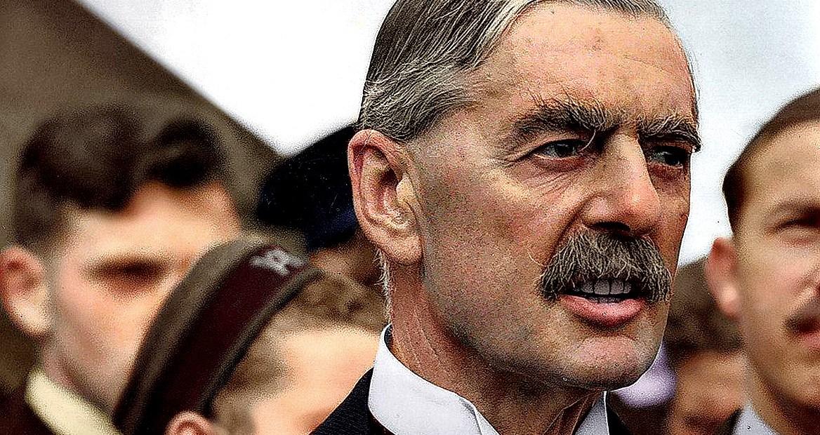 British PM Chamberlain 1938
