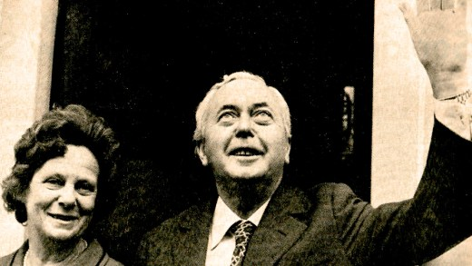 Prime Minister Harold Wilson
