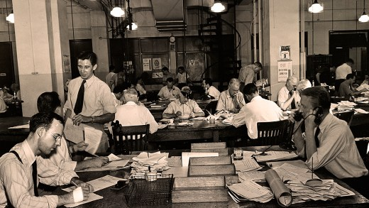 The Newsroom - 1942