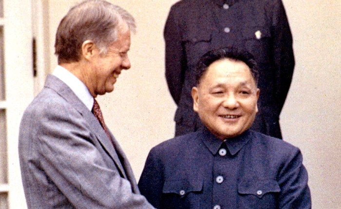President Carter and Deng Xiao Ping
