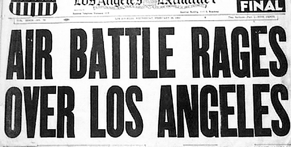The Battle of Los Angeles - 1942