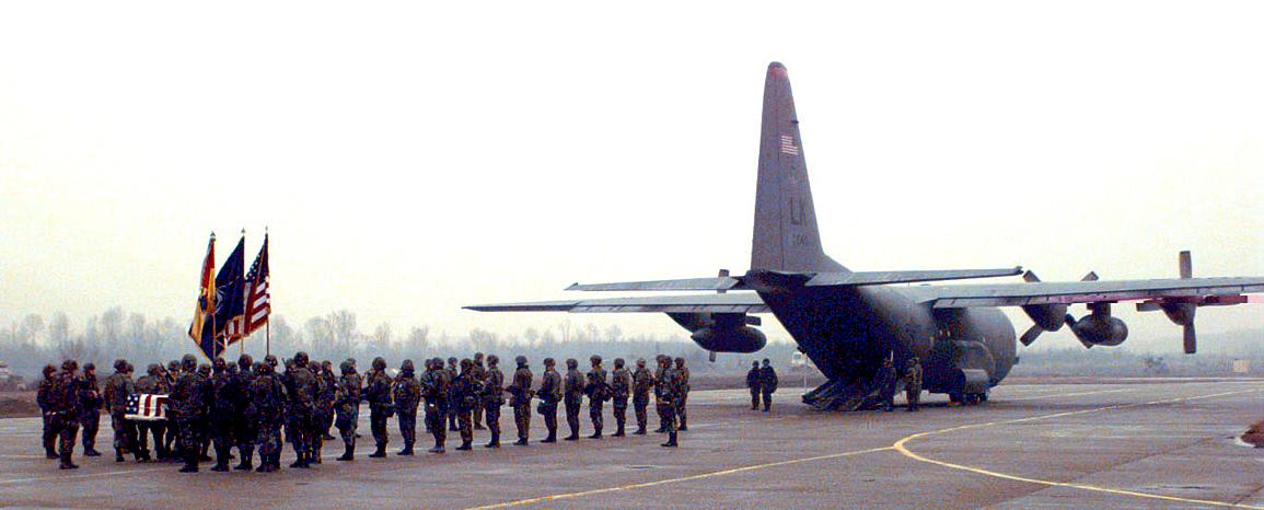 Donald Dugan - first U.S. peacekeeper to die in Bosnia - 1996