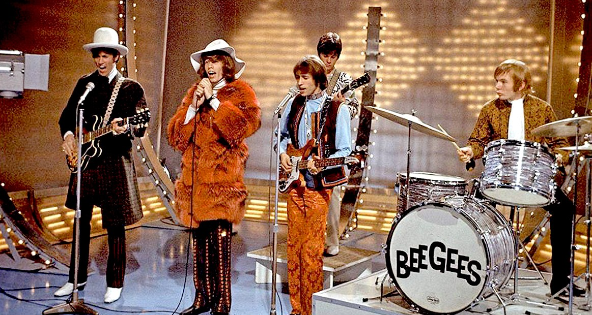 The Bee Gees in 1967.