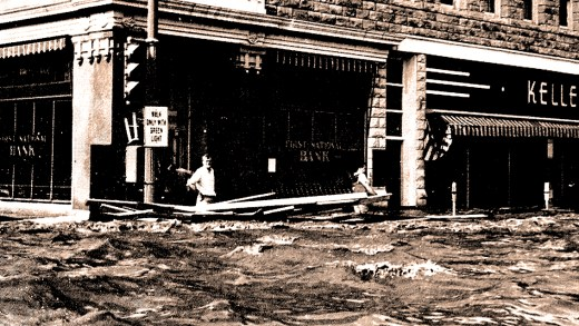 Kansas City Flood - July 1951