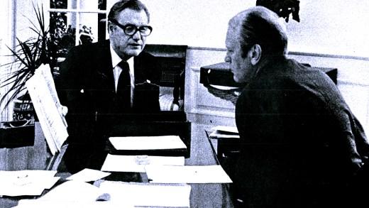 Pres. Ford - vice-President Rockefeller