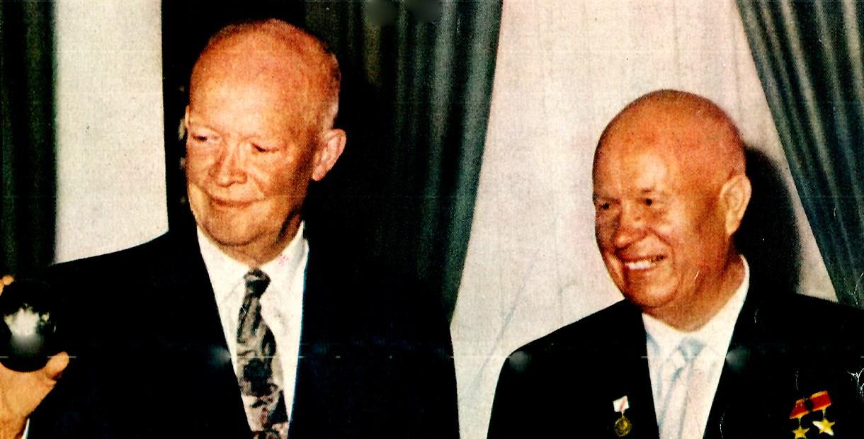 President Eisenhower and Nikita Khruschev - 1959