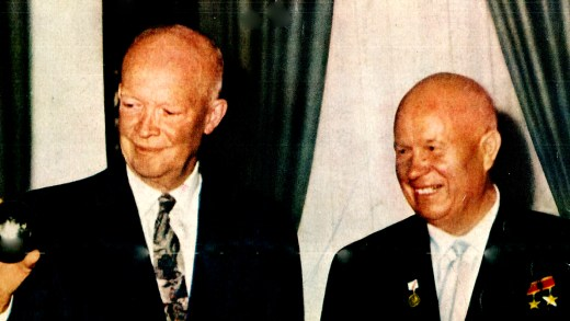 President Eisenhower and Nikita Khruschev - 1959
