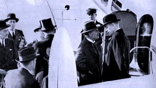 Chamberlain-Eden - Shuttle Diplomacy - 1938
