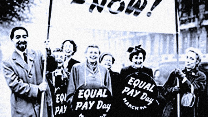 Demonstrations For Equal Pay/Equal Rights - 1960s