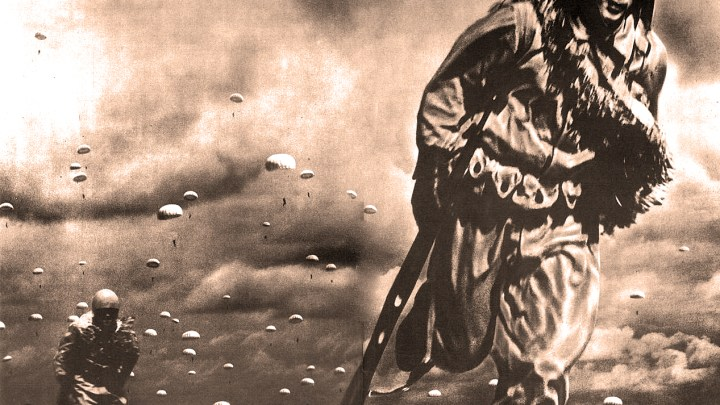 Japanese Paratroopers Land On Palembang - February 1942